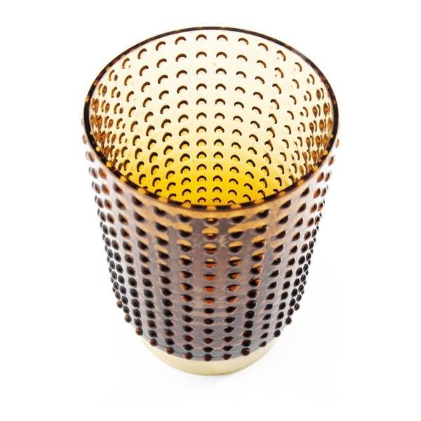 Hnedá váza Kare Design Barfly Brown, 14 cm