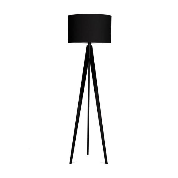 Stojacia lampa 4room Artist Black/Black, 125x42 cm