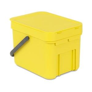 Kôš Sort & Go 6 l, žltý