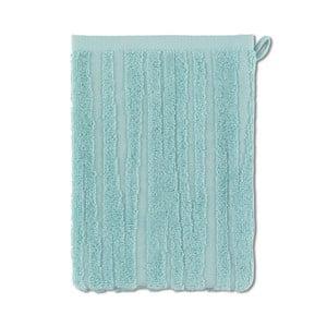 Mentolová rukavica na umývanie Kela Lindano, 15x21cm