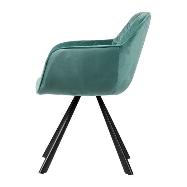 Svetlozelená stolička De Eekhoorn Elaine
