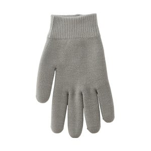 Sivé hydratačné rukavice Meraki Moisturising, 1 pár