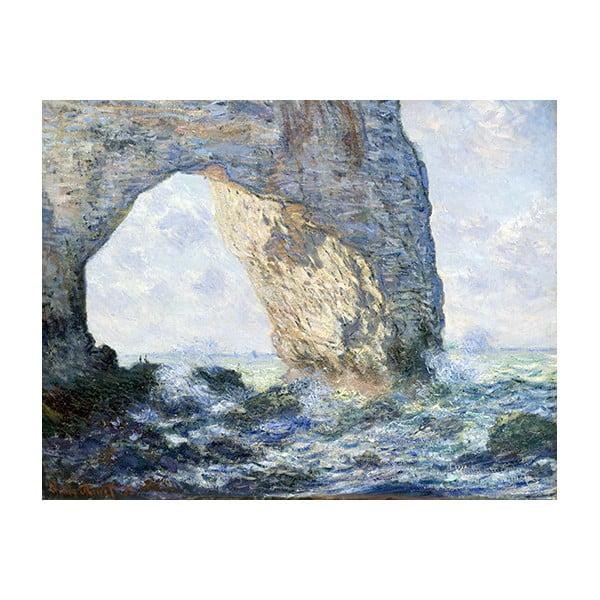 Obraz Claude Monet - The Manneporte, 70x55 cm