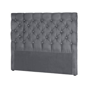 Sivé čelo postele Stella Cadente Maison Pegaz, 180 x 118 cm