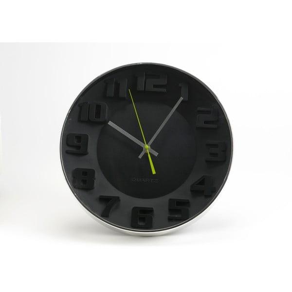 Hodiny Black Modern, 35 cm