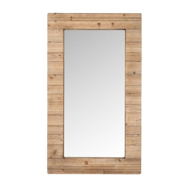 Zrkadlo v drevenom ráme Nata, 120x70 cm