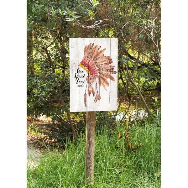 Obraz na dreve Little Nice Things Free Spirit, 60 x 40 cm