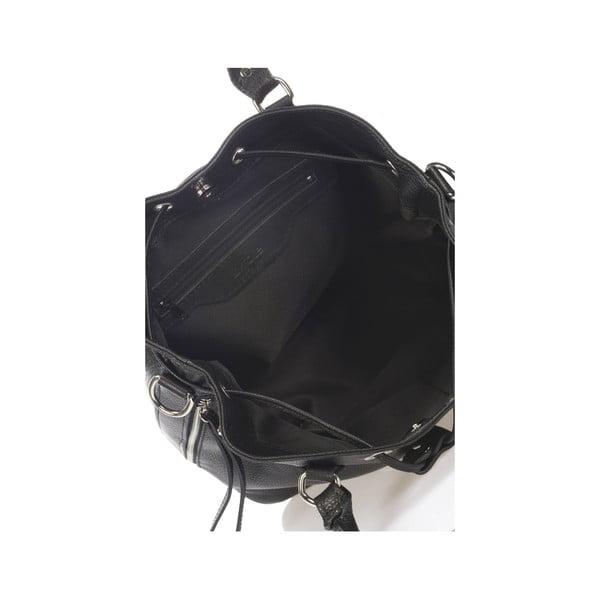 Kožená kabelka Krole Kenna, čierna