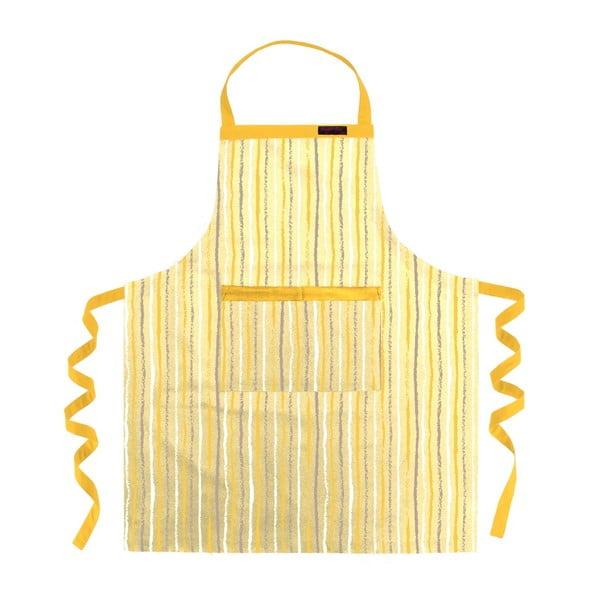 Kuchynská zástera Gold Striped