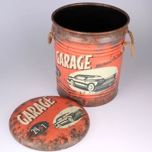 Taburetka s úložným priestorom Garage