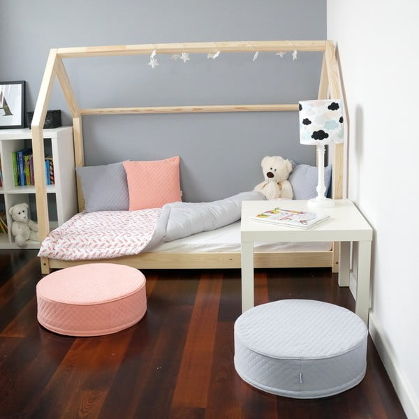 Detská posteľ z borovicového dreva Benlemi Tery, 90 x 200 cm
