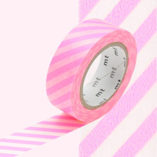 Washi páska Rose Fluo