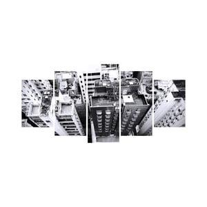 Viacdielny obraz Black&White no. 17, 100x50 cm