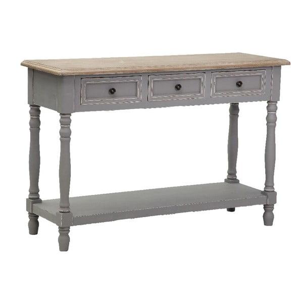 Stôl s odkladacím priestorom Saint-Tropez 80x120x40 cm