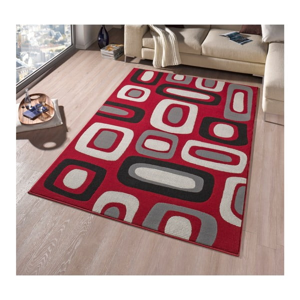 Koberec Hanse Home Hamla Willy Red, 80 x 300 cm