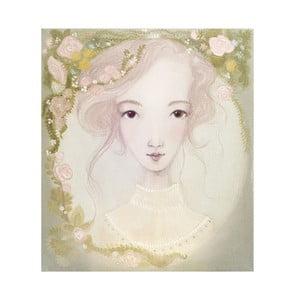Autorský plagát od Lény Brauner Lúčna víla, 60 x 67 cm
