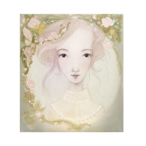 Autorský plagát od Lény Brauner Lúčna víla, 53x60 cm