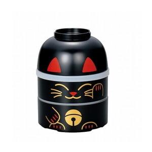Detský desiatový box Kokeshi Cat, 850 ml