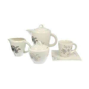 Porcelánový kávový set Fino, 15 ks