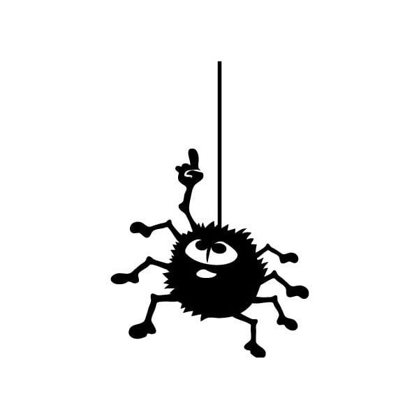 Samolepka Ambiance Hanging Spider