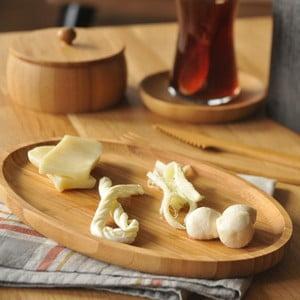 Bambusová servírovacia tácka Bambum Snack Bolw