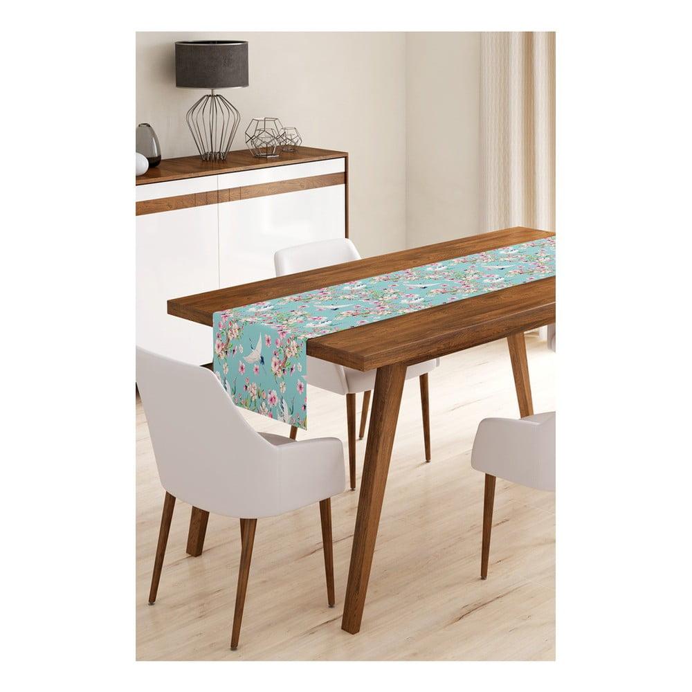 Behúň na stôl z mikrovlákna Minimalist Cushion Covers Birds, 45 × 145 cm