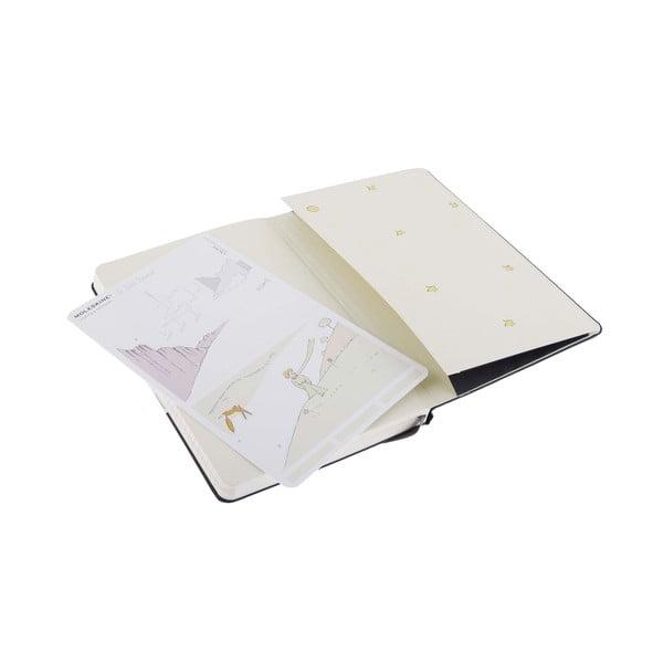 Zápisník Moleskine Le Petit Prince, 9x14 cm