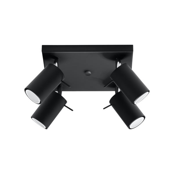 Čierne stropné svetlo Nice Lamps Ethno 4