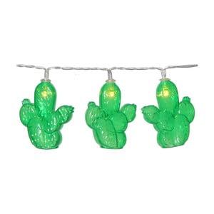 Svetelná LED reťaz Best Season Cactus, 10svetielok