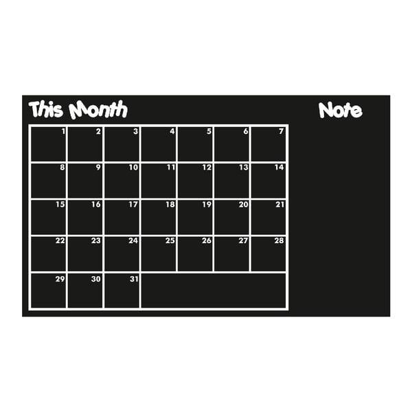 Nástenná tabuľová samolepka This Month