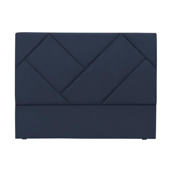 Modré čelo postele HARPER MAISON Annika, 200×120 cm