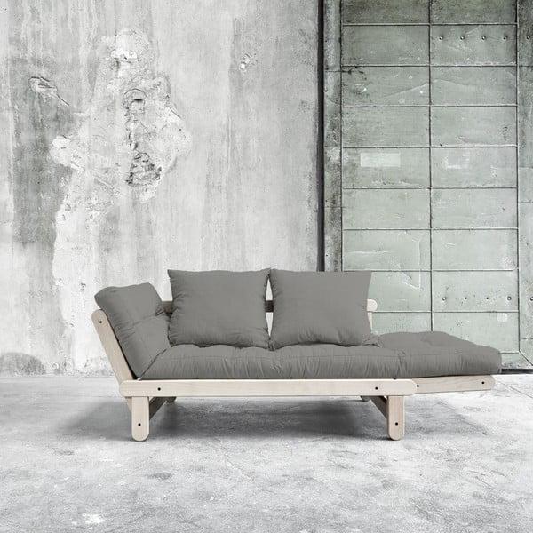 Rozkladacia pohovka Beat Beech/Granite Grey