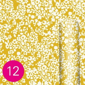 Žltý baliaci papier Caroline Gardner