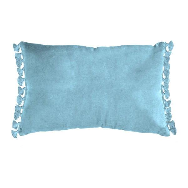 Modrý vankúš Ragged Rose Tassie