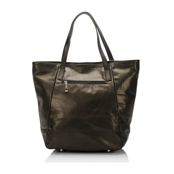 Kožená kabelka Massimo Castelli 6407 Black