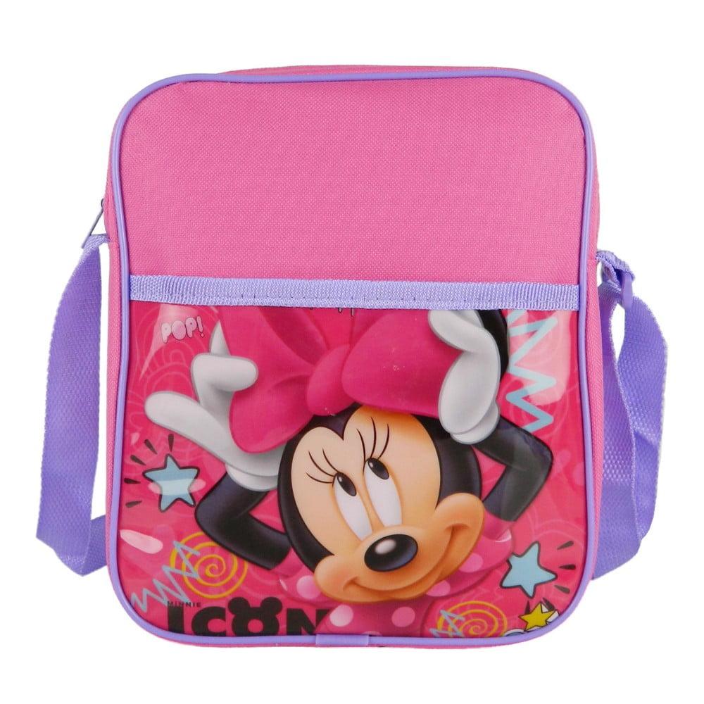 Ružová detská taška cez rameno Bagtrotter Minnie
