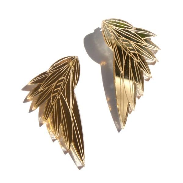 Náušnice Wing Gold