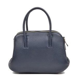 Námornícka modrá kožená kabelka Mangotti Marion