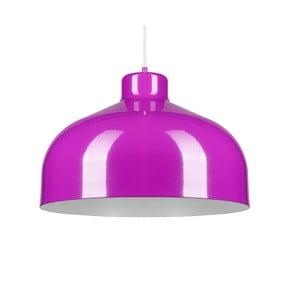 Fialové stropné svetlo Loft You B&B, 33 cm