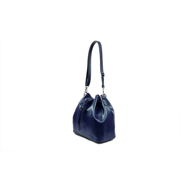Kožená kabelka Farah, modrá
