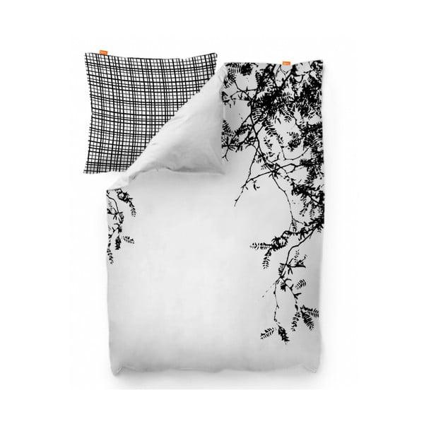 Obliečka na paplón Blanc Wood, 140x200 cm