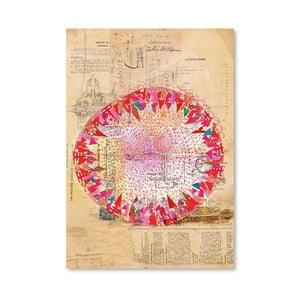 Plagát Circle Collage, 30x42 cm