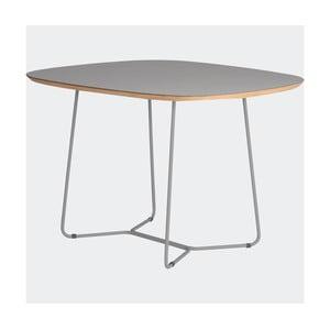 Stôl Maple stredný, sivý