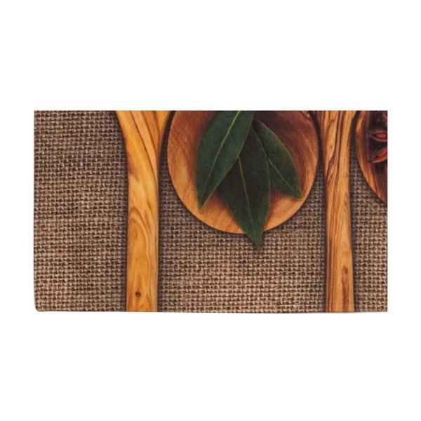 Vysokoodolný kuchynský koberec Spices, 60x110 cm