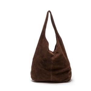 Kožená kabelka Roberta M 885 Marrone