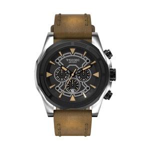 Pánske hodinky Suez 1869, Metallic/Brown/Black