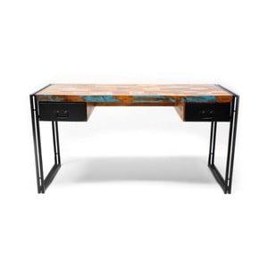 Písací stôl z masívneho dreva SOB Toronto