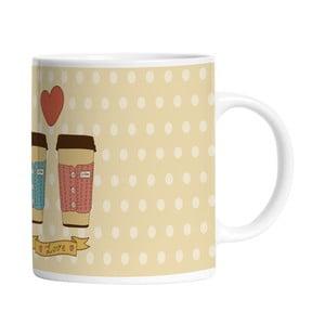 Keramický hrnček Cup of Love, 330 ml