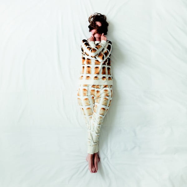 Dámske biele nohavice Snurk Toast, S