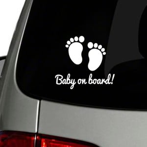 Samolepka Fanastick Baby On Board